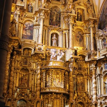Church decoration, Cusco, Peru