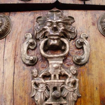 Door knocker, Sucre, Bolivia