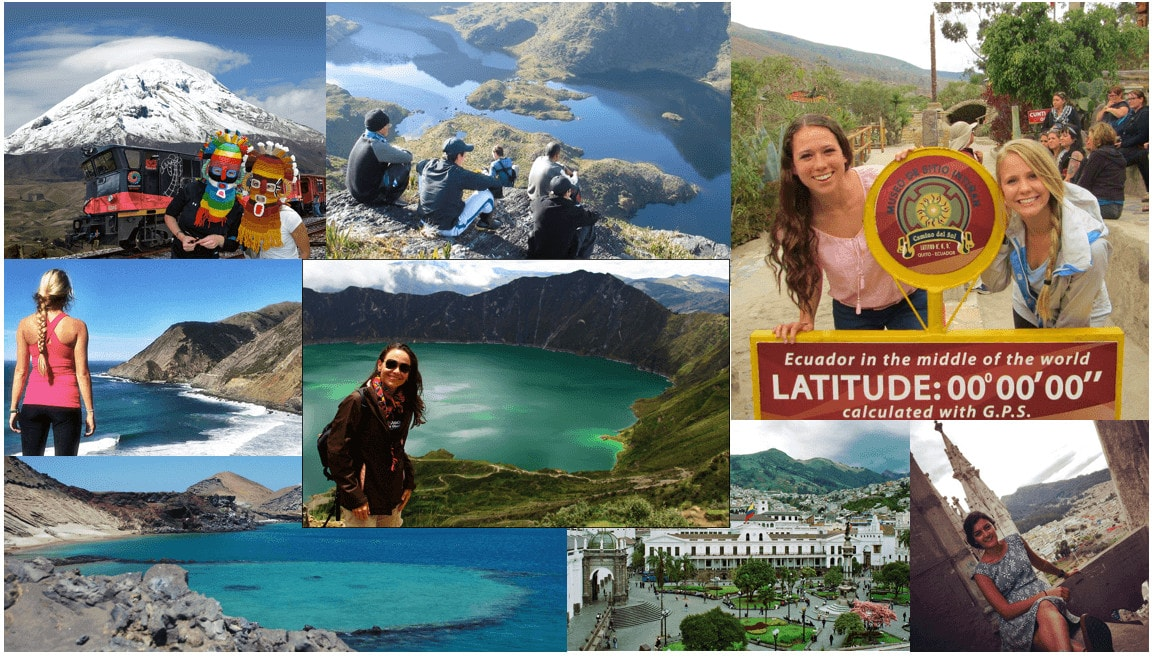 Ecuador student life. Study Spanish in Ecuador and Bolivia.