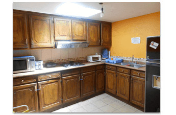 Accommodation - Student Residence in Quito - Kitchen