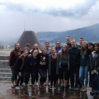 Students group, Ecuador