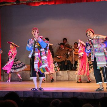 Folk dance, Cusco, Peru