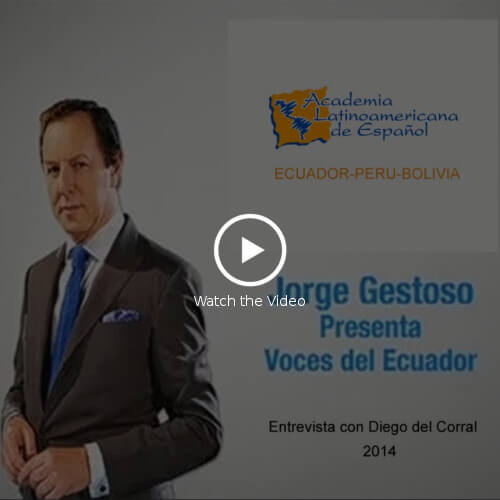 video LatinoSchools-Jorge Gestoso enterview Diego del Corral