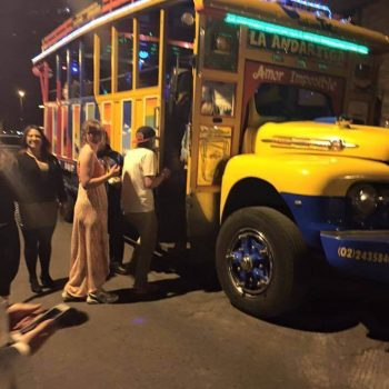 Party bus, Quito, Ecuador