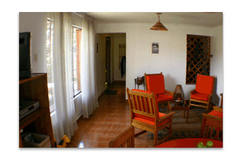 Accommodation - Student Residence in Cusco, Peru - Living-Room