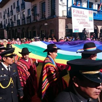 Civic parade, Peru