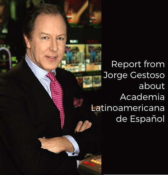 Report from Jorge Gestoso about Academia Latinoamericana de España