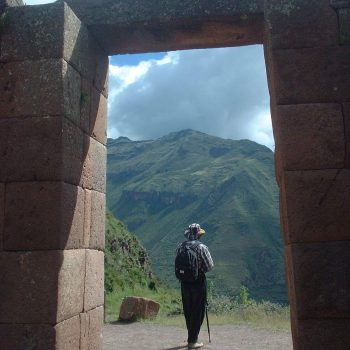 Sagsaywaman entrance, peru