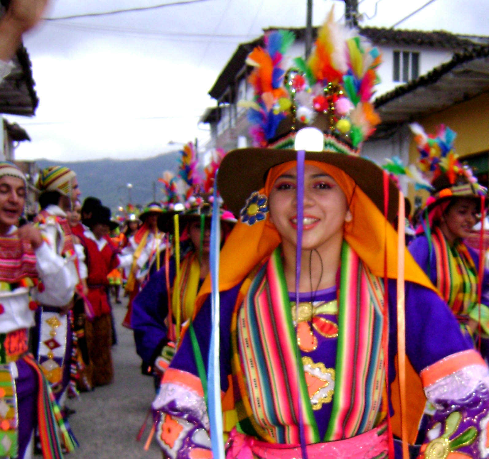 Traditional dress, Bolivia