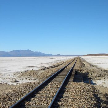 Train tracks, Bolivia