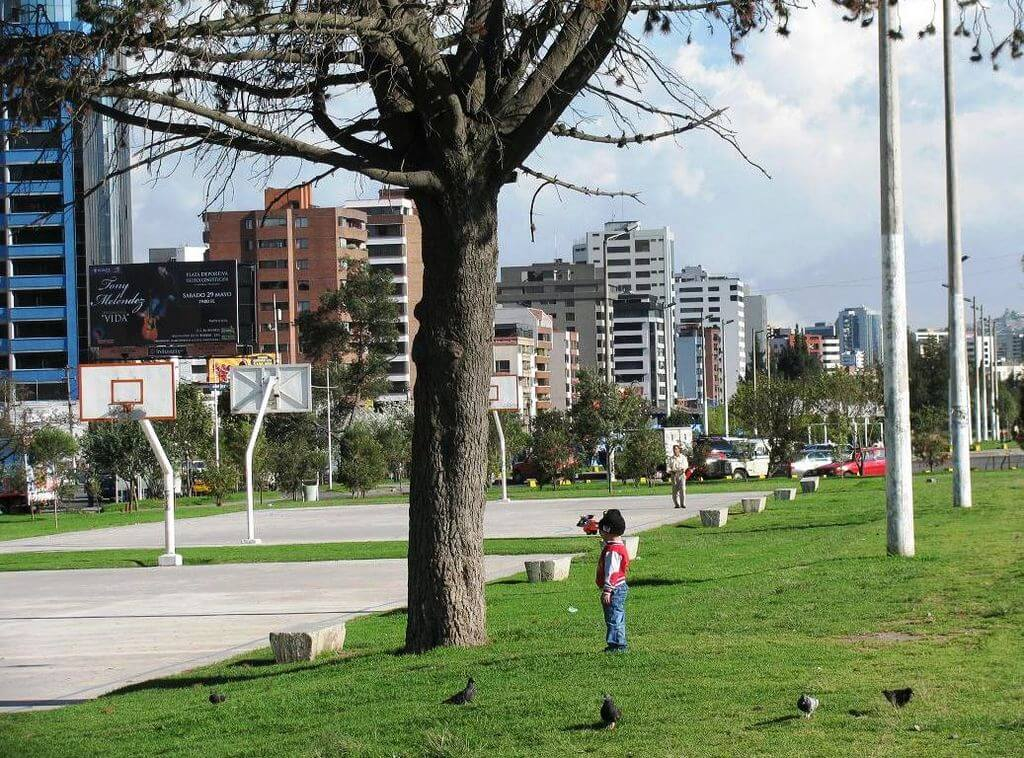 Parque La Carolina, Quito, Equador