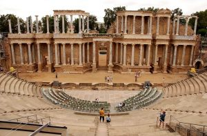 Roman theater in Merida - Spain