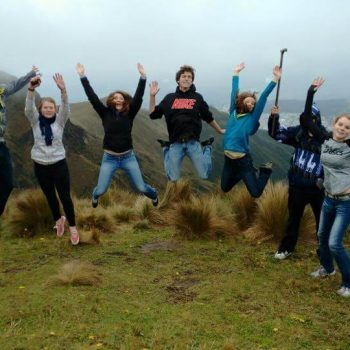 students trip, Quito