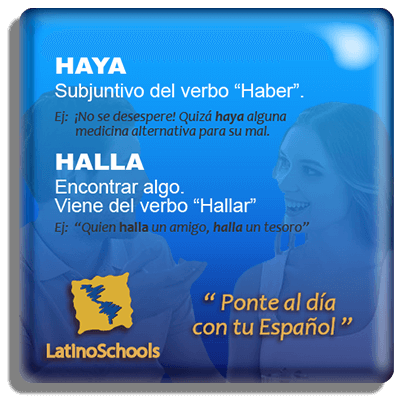 "Spanish learning pill ""Haya & Halla"""
