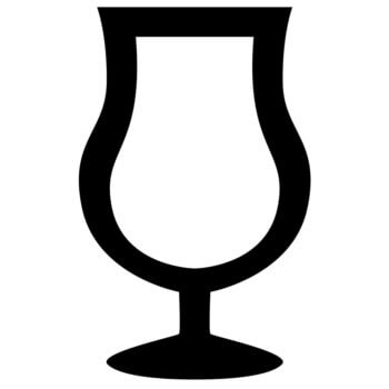 A wine glass, 'copa' in Spanish